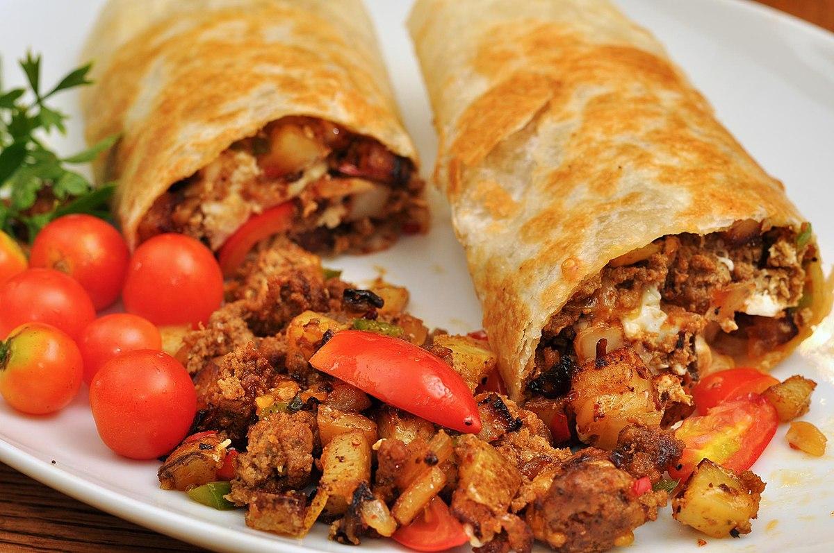 Burrito comida wikipedia la enciclopedia libre for Tipos de encielados