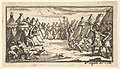 Breaking the Legs (John Beaver, Roman Military Punishments, 1725) MET DP824592.jpg