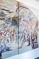 Bregenz, Kommandogebäude Oberst Bilgeri, Fresken von Martin Häusle-01a.jpg