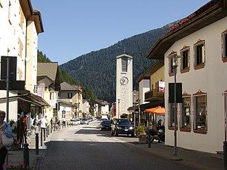 Brenner, South Tyrol - The main street