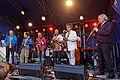 Brest - Fête de la musique 2014 - Big Band de Jazz - 001.jpg