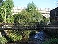 Bridges, Mytholmroyd - geograph.org.uk - 1490374.jpg