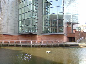 Bridgewater Hall - Bridgewater Hall overlooks the Rochdale Canal
