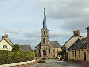 Brie, Ille-et-Vilaine - Image: Brie FR 35 église 01