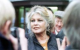 Brigitte Bardot nel 2002.