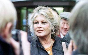 Schauspieler Brigitte Bardot