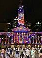 Brisbane City Hall light projection show 2018, 04.jpg