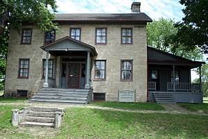 National Register of Historic Places listings in Crawford County, Wisconsin - Image: Brisbois House