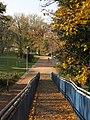 Brno - park Koliště, lávka k IBC obr01.jpg