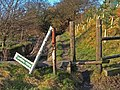 Broken Footpath Signpost - geograph.org.uk - 327873.jpg