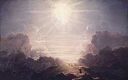 Brooklyn Museum - Study for The Cross and the World...... - Thomas Cole.jpg