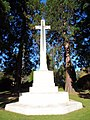 Brookwood Military Cemetery WWI Cross of Sacrifice (front) 1.jpg