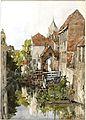 Brugge (1900) door Johan Hendrik van Mastenbroek.jpg