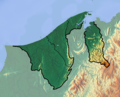 Brunei location map Topographic.png