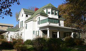 National Register of Historic Places listings in Burt County, Nebraska - Image: Bryant House (Tekamah, Nebraska) from SE 1