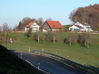 Buechenegg: mit Passstrasse