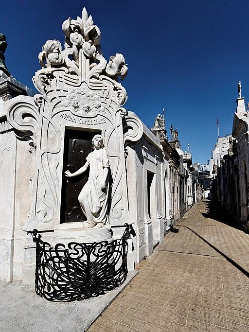 Buenos Aires - Cementerio de la Recoleta - 20090104-06