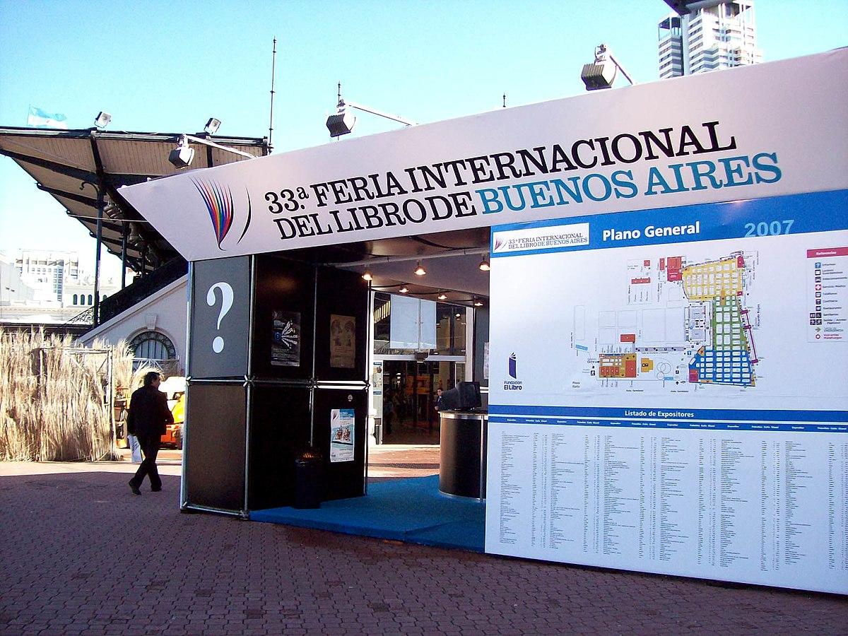 Feria Internacional Del Libro De Buenos Aires Wikipedia