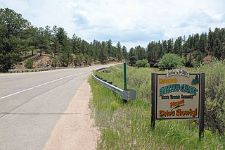 Buffalo Creek, Colorado Unincorporated community in State of Colorado, United States