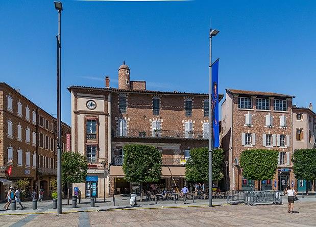 Monument historique à Albi