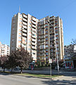 Buildings in Agim Ramadani Street, Pristina, 2012 3.jpg