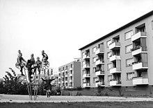 Wohnungsbau Der Nachkriegszeit Die Von May Geplante Neue Vahr In Bremen