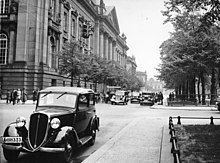 Photo of exterior of Prussian State Library in 1938