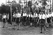German Scout camp