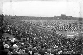 Strahov Stadium - Všesokolský slet in 1932
