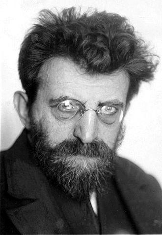 Erich Mühsam - Erich Mühsam, aged 50