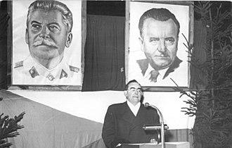 Karel Hájek - Image: Bundesarchiv Bild 183 09018 0009, Schnelltriebwagen Berlin Prag, Louis Fürnberg spricht