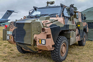 Bushmaster Protected Mobility Vehicle - Bushmaster operated by the Royal Australian Air Force's Airfield Defence Guards