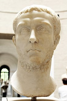 Bust of Gallienus (loan from Antikensammlung Berlin) - Glyptothek - Munich - Germany 2017.jpg