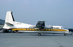 Busy Bee F-27 at Basel 1982.jpg