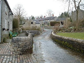 Butterton village in the United Kingdom