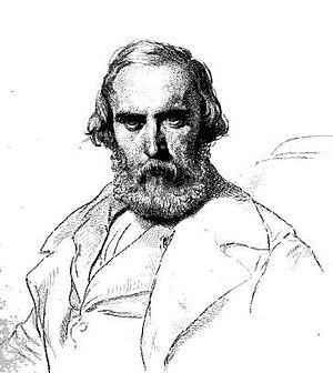 Eugène-Ferdinand Buttura - Portrait of Buttura by Paul Delaroche, 1863.