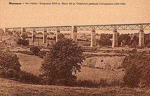 Viaduct of Moresnet - Viaduct of Moresnet (ca 1918)