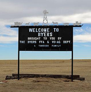 Byers, Colorado Census Designated Place in Colorado, United States