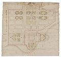 Byggnadsritning, 1600-tal - Skoklosters slott - 98957.tif