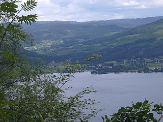 Bygland Municipality in Aust-Agder, Norway
