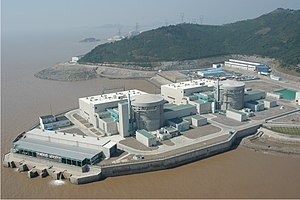 CANDU Nuclear Power Plant at Qinshan, China