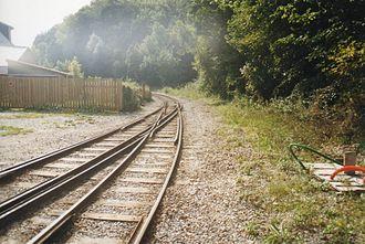 Dual gauge - Image: CFBS track