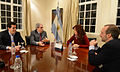 CFK con De Pedro, Anibal y Sabbatela.jpg