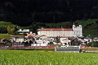 Disentis Abbey - Image: CH Disentis Monastery