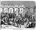 Cabalgata conmemorativa de la coronación como rey de Aragón del infante don Fernando, en Zaragoza, 9 de octubre de 1860.jpg