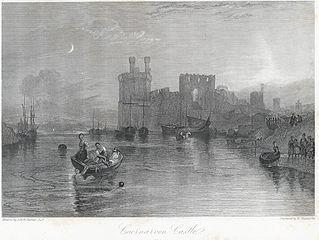 Caernarvon Castle. Wales
