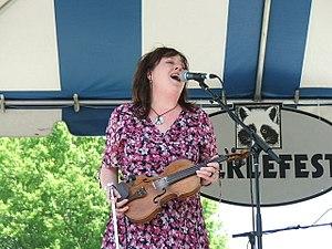 Caitlin Cary - Caitlin Cary at Merlefest 2006