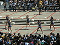 Cal Dance Team at Cal Day 2010 spirit rally 2.JPG