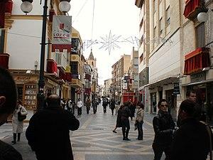 Lorca, Spain - Calle de la Corredera