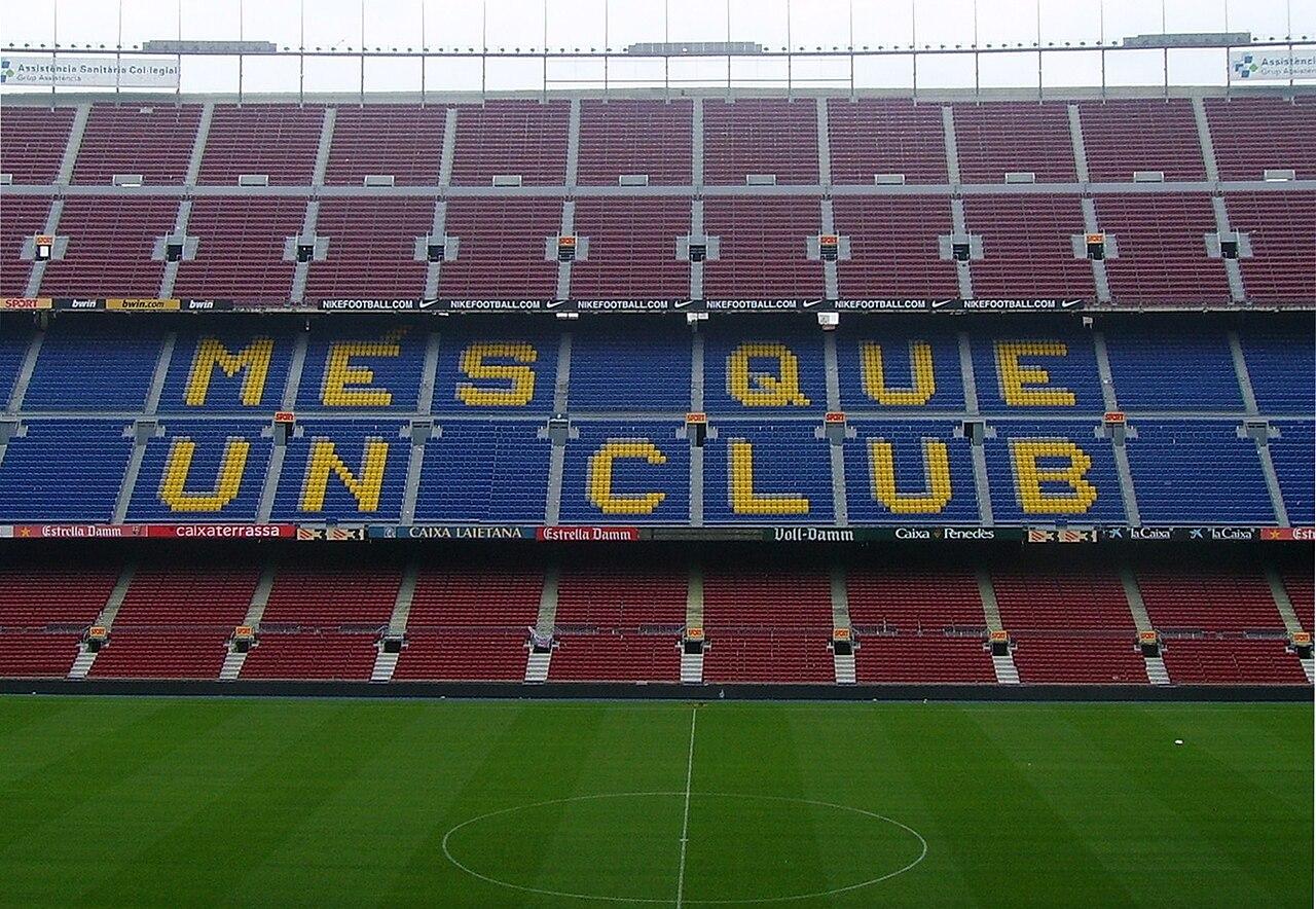 ملف:Camp Nou més que un club.jpg - ويكيبيديا